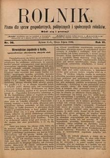 Rolnik, 1896, R. 3, nr30