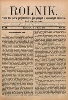 Rolnik, 1897, R. 4, nr12