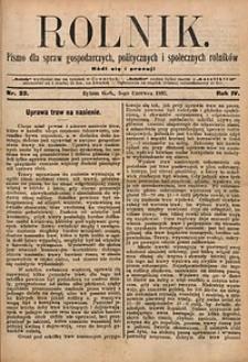 Rolnik, 1897, R. 4, nr22