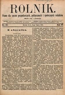 Rolnik, 1897, R. 4, nr27