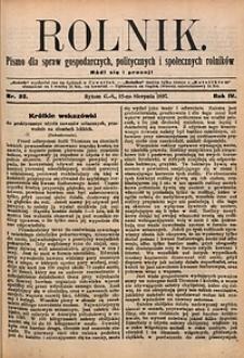 Rolnik, 1897, R. 4, nr32