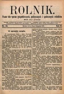 Rolnik, 1897, R. 4, nr33