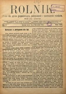 Rolnik, 1901, R. 8, nr1