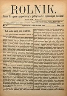 Rolnik, 1901, R. 8, nr3