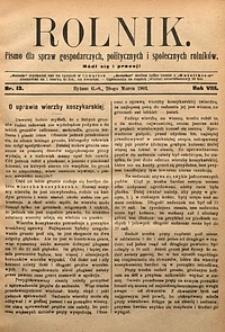 Rolnik, 1901, R. 8, nr13