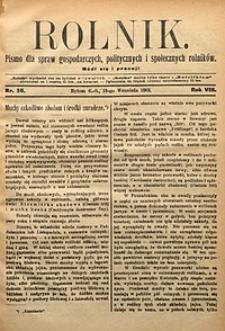 Rolnik, 1901, R. 8, nr38