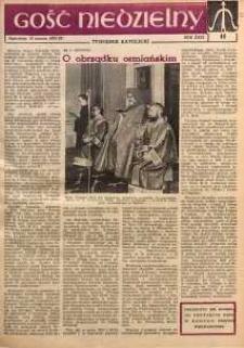 Gość Niedzielny, 1960, R. 29, nr 11
