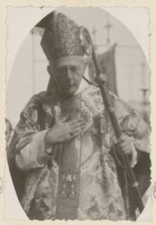O/S. Kirchen. Kardinal Dr. Bertram der alle O/S. Kirchen ein Weihete