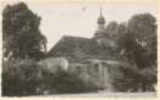 Oberschlesiche Kirchen. Wallfahrtskirchlein bei Tworkau