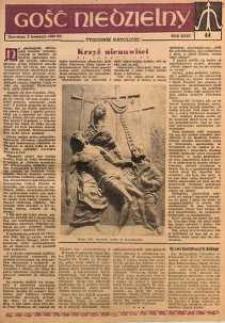 Gość Niedzielny, 1960, R. 33, nr 14