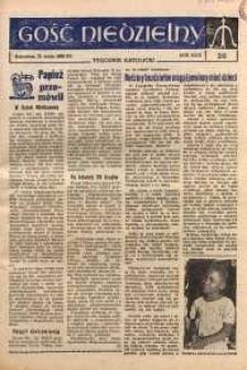 Gość Niedzielny, 1960, R. 33, nr 20