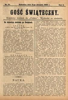 Gość Świąteczny, 1906, nr31
