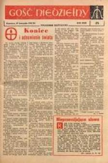 Gość Niedzielny, 1960, R. 29, nr 48