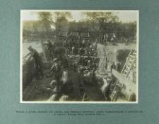 Wykopy w gruncie skalistym pod piwnice, oraz zakładanie bankietów i murów fundamentowych, w narożniku od ul. Ligonia i Nowego Placu (wrzesień 1924 r.)