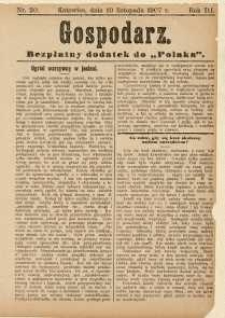 Gospodarz, 1907, nr 20