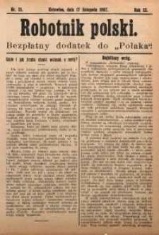 Robotnik Polski, 1907, nr21