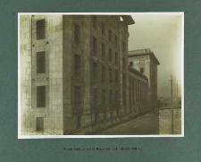 Widok budynku od ul. Reymonta (październik 1926 r.)