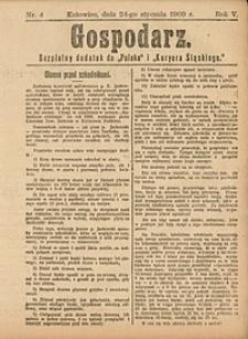 Gospodarz, 1909, nr4