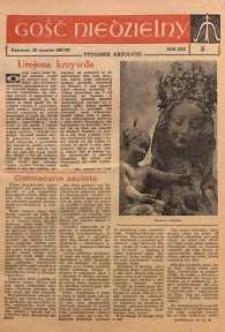 Gość Niedzielny, 1961, R. 30, nr 5
