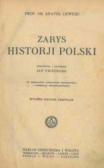 Zarys Historji Polski