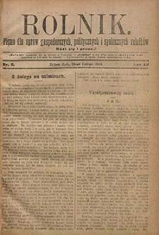 Rolnik, 1908, R. 15, nr8