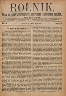 Rolnik, 1908, R. 15, nr21