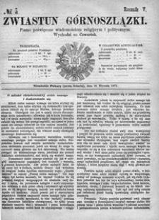 Zwiastun Górnoszlązki, 1872, R. 5, nr 3