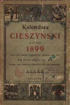 Kalendarz Cieszyński na rok Pański 1899