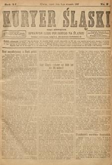 Kuryer Śląski, 1919, R. 11 [właśc. 13], nr2
