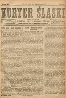 Kuryer Śląski, 1919, R. 11 [właśc. 13], nr8