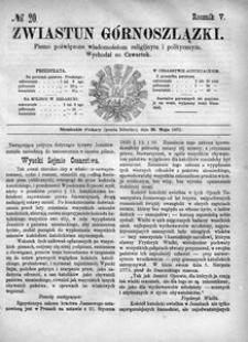 Zwiastun Górnoszlązki, 1872, R. 5, nr 20