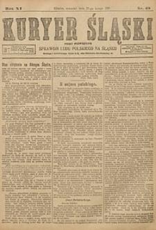 Kuryer Śląski, 1919, R. 11 [właśc. 13], nr48