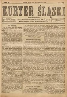 Kuryer Śląski, 1919, R. 11 [właśc. 13], nr93