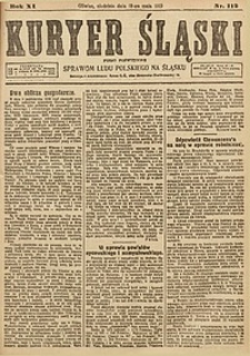 Kuryer Śląski, 1919, R. 11 [właśc. 13], nr112