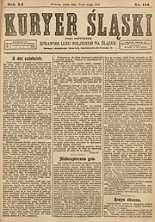 Kuryer Śląski, 1919, R. 11 [właśc. 13], nr114