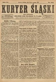 Kuryer Śląski, 1919, R. 11 [właśc. 13], nr215