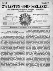 Zwiastun Górnoszlązki, 1872, R. 5, nr 41
