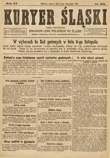 Kuryer Śląski, 1919, R. 11 [właśc. 13], nr255