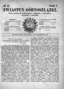 Zwiastun Górnoszlązki, 1872, R. 5, nr 43