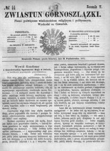 Zwiastun Górnoszlązki, 1872, R. 5, nr 44
