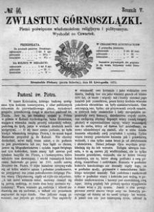 Zwiastun Górnoszlązki, 1872, R. 5, nr 46
