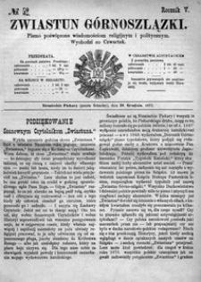 Zwiastun Górnoszlązki, 1872, R. 5, nr 52