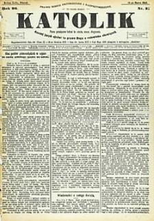 Katolik, 1893, R. 26, nr31
