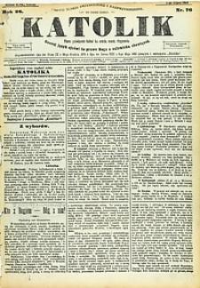 Katolik, 1893, R. 26, nr76