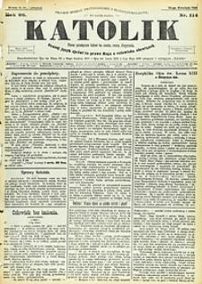 Katolik, 1893, R. 26, nr114