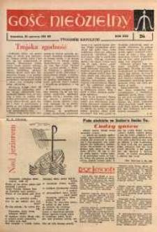 Gość Niedzielny, 1961, R. 30, nr 26