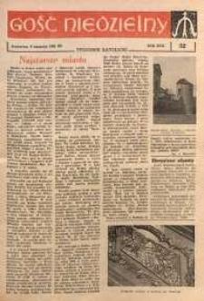Gość Niedzielny, 1961, R. 30, nr 32