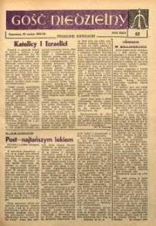 Gość Niedzielny, 1962, R. 35, nr 12