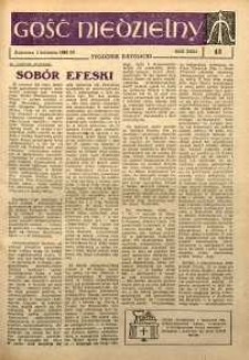 Gość Niedzielny, 1962, R. 31, nr 13