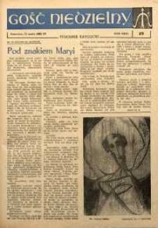 Gość Niedzielny, 1962, R. 31, nr 19